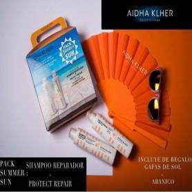 Aidha Klher pack solar cabello champu mas protector