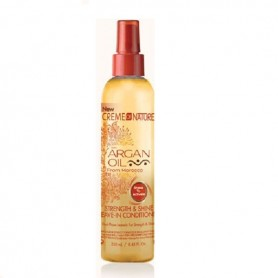 Creme of nature strength & shine acondicionador sin aclarado 250ml