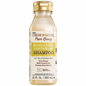 Creme Of Nature pure honey moisturizing dry champú 355ml