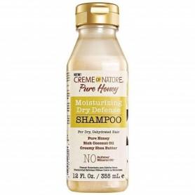 Creme Of Nature pure honey moisturizing dry champú 355ml
