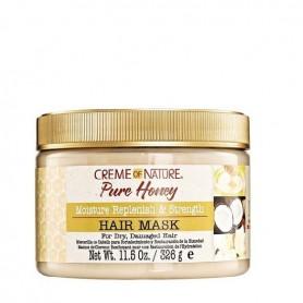 Creme Of Nature pure honey mascarilla cabello dañado 326ml