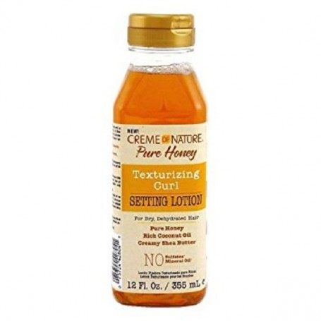 Creme Of Nature pure honey setting lotion 355ml