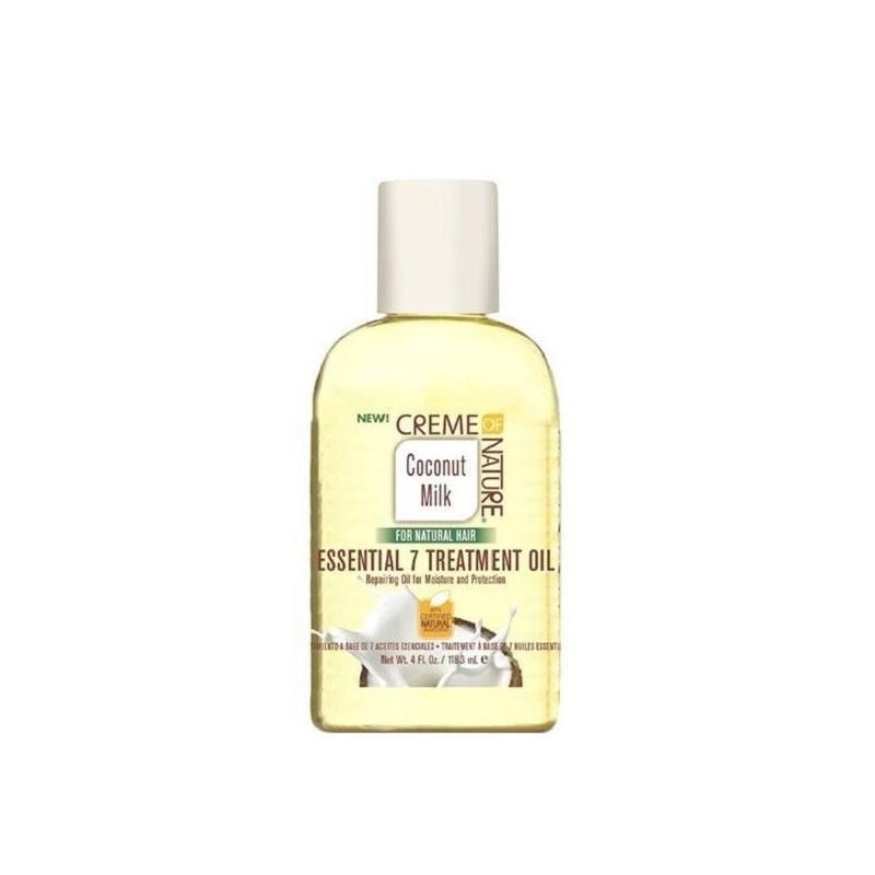 Creme of nature coconut oil tratamiento esencial 7 de 118ml