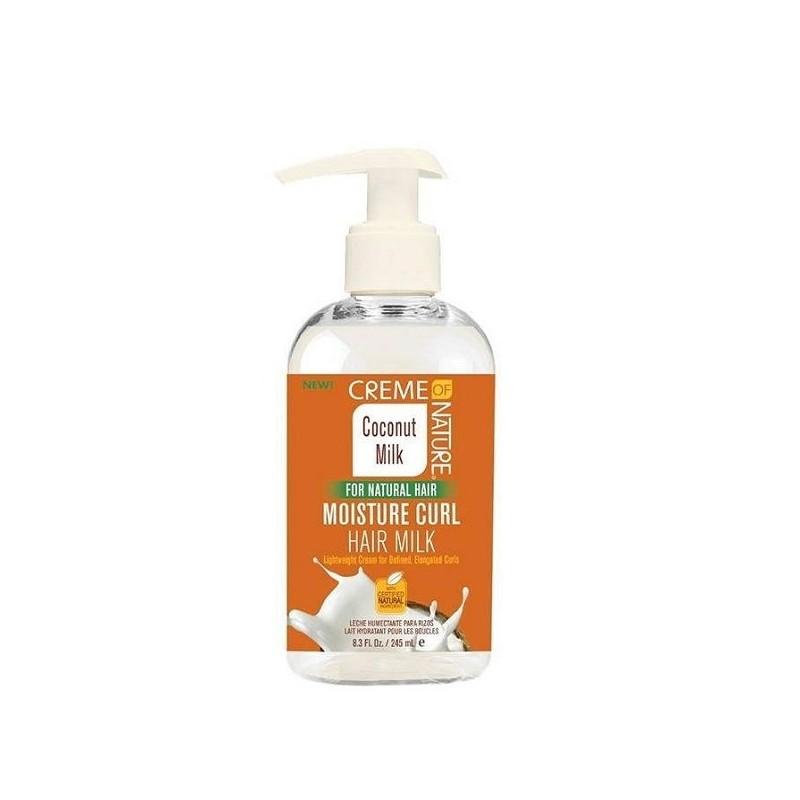 Creme of nature coconut oil milk crema rizos 245