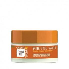 Creme of nature coconut oil edge tamer 24h de 64gr
