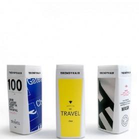 Trendy hair elastic travel kit