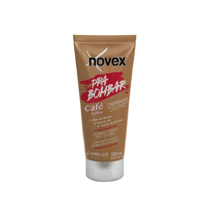 Novex hair boost coffee acondicionador para bombar 200ml