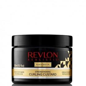 Revlon real black stregth curling custard 300ml