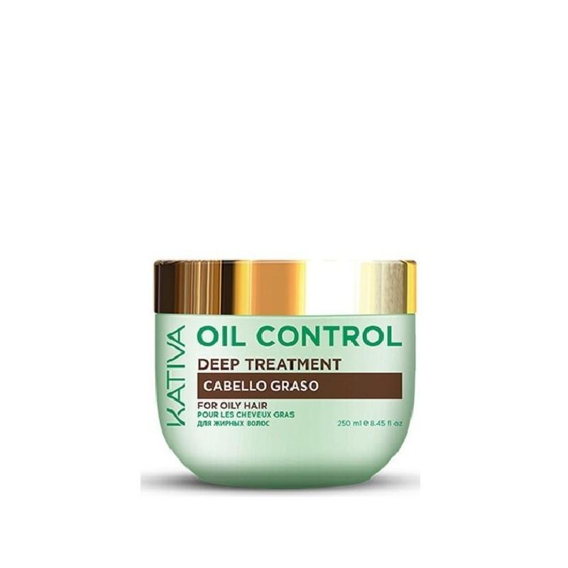 Kativa oil control mascarilla antigrasa 200ml