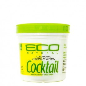 Eco cocktail gel aceite de oliva y manteca karite 473ml