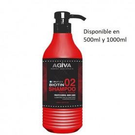 Agiva hair champu biotin complex