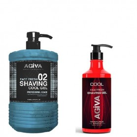 Agiva shaving gel afeitado cool