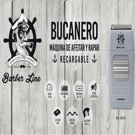 Barber Line Máquina afeitadora bucanero 06412