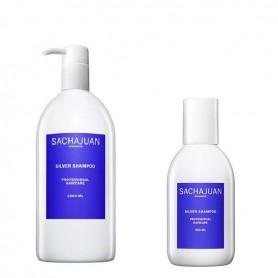 Sachajuan champu silver cabello blanco y rubio