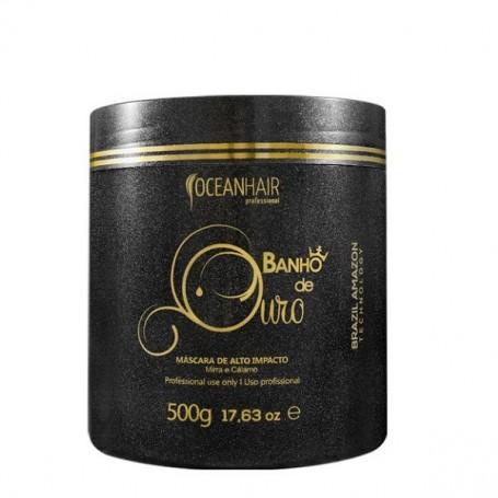 Ocean Hair mascarilla baño de oro 500ml