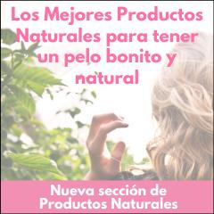 Productos naturales peluquería